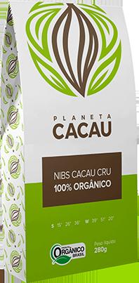 Nibs de Cacau Cru, Orgânico e Gourmet 500g